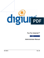 Fax for Asterisk Admin Manual