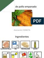 Receta de Pollo Empanado
