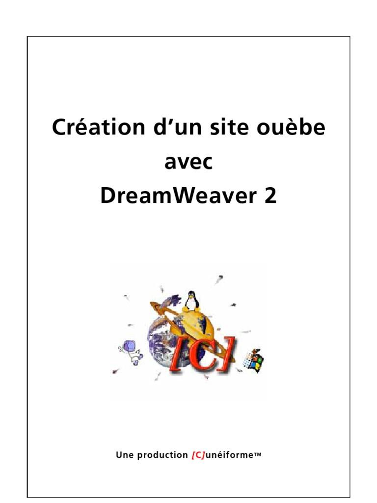 Dreamweaver site de rencontre