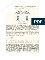 Enrutamiento Dinámico con OSPF en Routers Cisco