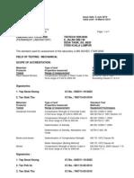 Samm Certificate