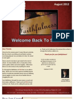 RLC August 2012 Newsletter