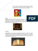 7 Clases de Arte