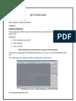 3D StudioMax 9
