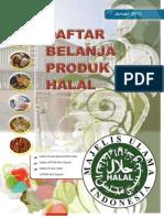 Panduan Halal 2012
