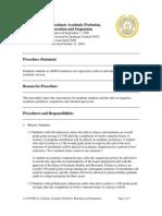 11.04.99.R0.16GraduateAcademicProbation,RetentionAndSuspension