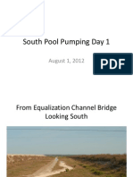 South Pool Pumping Day 1