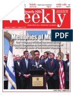 Memories of Munich--Beverly Hills Weekly, Issue #670