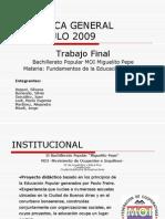 Didactica General Coloquio