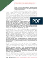 DICCIONARIO HISTORICO BIOGRAFICO GEOGRAFICO DEL PERU Letra D
