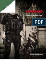 2012 Safariland Order Guide