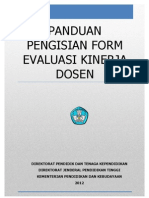 Panduan Pengisian Form Evaluasi Kinerja Dosenv04