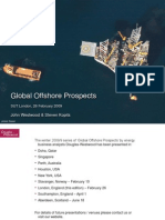 Global Offshore Oil Drilling Prospects