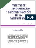 GARCIA FERNANDEZ Proceso de desmineralización y remineralizacion de la caries dental