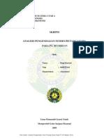 ANALISIS PENGENDALIAN INTERN PIUTANG USAHA PADA PT. SFI MEDAN
