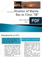Manila Bay Classification