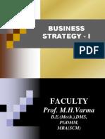 Business Strategy I