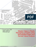 Real-World Master-class in Project Management With Microsoft Project And Earned Value - Free