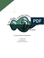 FSNZ2012 Programme