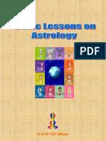 Basics on Indian Astrolgy