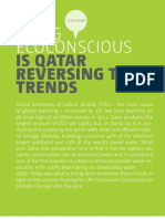 August Cover - Is Qatar Ecoconscious?