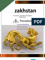Level 1 Report on Kazakhstan August 2012