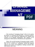 Change Managent Ppt