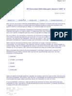 Como programar Advpl no ERP - 09 - Comandos Definidos pelo Usuario UDC´s