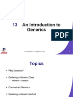 MELJUN CORTES JEDI Slides-Intro2-Chapter13-An Introduction to Generics