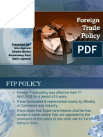 FTP Policy(2009-2014)