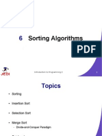 MELJUN CORTES JEDI Slides Intro2 Chapter06 Sorting Algorithms