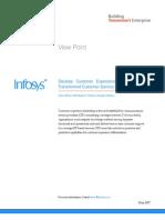 Develop Customer Experience Leadership through Transformed Customer Service Operation