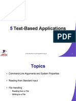 MELJUN CORTES JEDI Slides Intro2 Chapter05 Text Based Applications