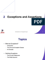 MELJUN CORTES JEDI Slides Intro2 Chapter02 Exceptions and Assertions