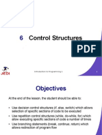 MELJUN CORTES JEDI Slides Intro1 Chapter06 Control Structures