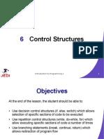 MELJUN CORTES JEDI Slides Intro1 Chapter06 Control Structures