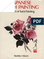 Japanese Brush Painting -The Art of Sumi Painting