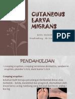 Cutaneous Larva Migrans