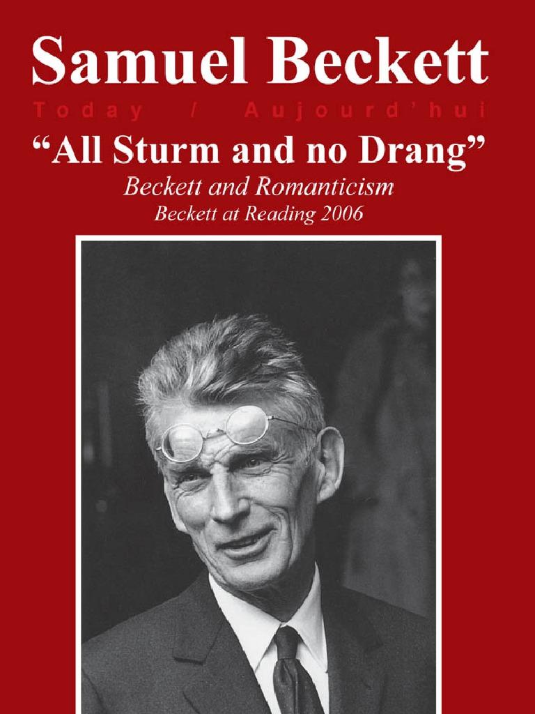 a35f90f985e4 Beckett and Romanticism - All Sturm and No Drang   Frankenstein   Prometheus