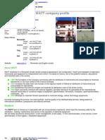 Watt Profile - English Version