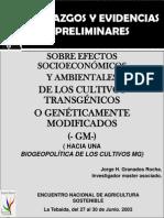 OMG RIESGOS Y ELEMENTOS DE JUICIO PARA LA TOMA DE DECISIONES EN  COLOMBIA