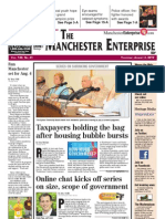 Manchester Enterprise front page August 2