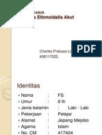Sinusitis Ethmoidalis Kasus-charles