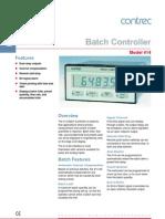 Contrec Batch Controller