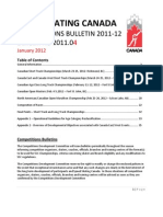 Competitions Bulletin 2011-12 - 2011.04