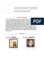 """Handout for Usability Presentation at #AALL12 """"Guerrilla Usability Testing"""""""