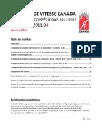 Bulletin des compétitions 2011-12 - 2011.04