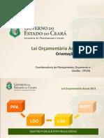 Reuniao Setorial LOA 2012