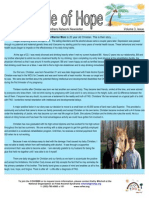 Circle of Hope Newsletter - Summer 2012