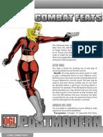 POSTMODERN Iconic Combat Feats
